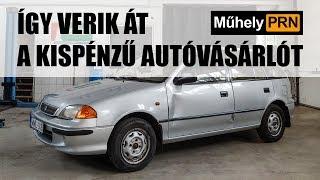 MűhelyPRN 21.: Így verik át a kispénzű autóvásárlót