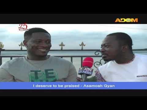 One-on-one with Asamoah Gyan - Agoro ne Fom on Adom TV (23-5-20)