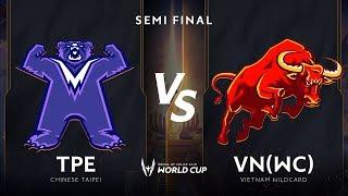 Việt Nam Wildcard vs Đài Bắc Trung Hoa  - Bán Kết AWC 2019 - Garena Liên Quân Mobile