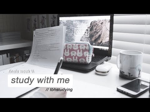 a final farewell to junior year // study with me