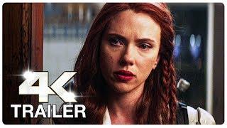 BLACK WIDOW : 6 Minute Trailers (4K ULTRA HD) NEW 2020