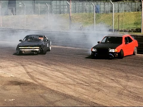 Supercharged Mercedes w202 c class drifting at Birmingham wheels