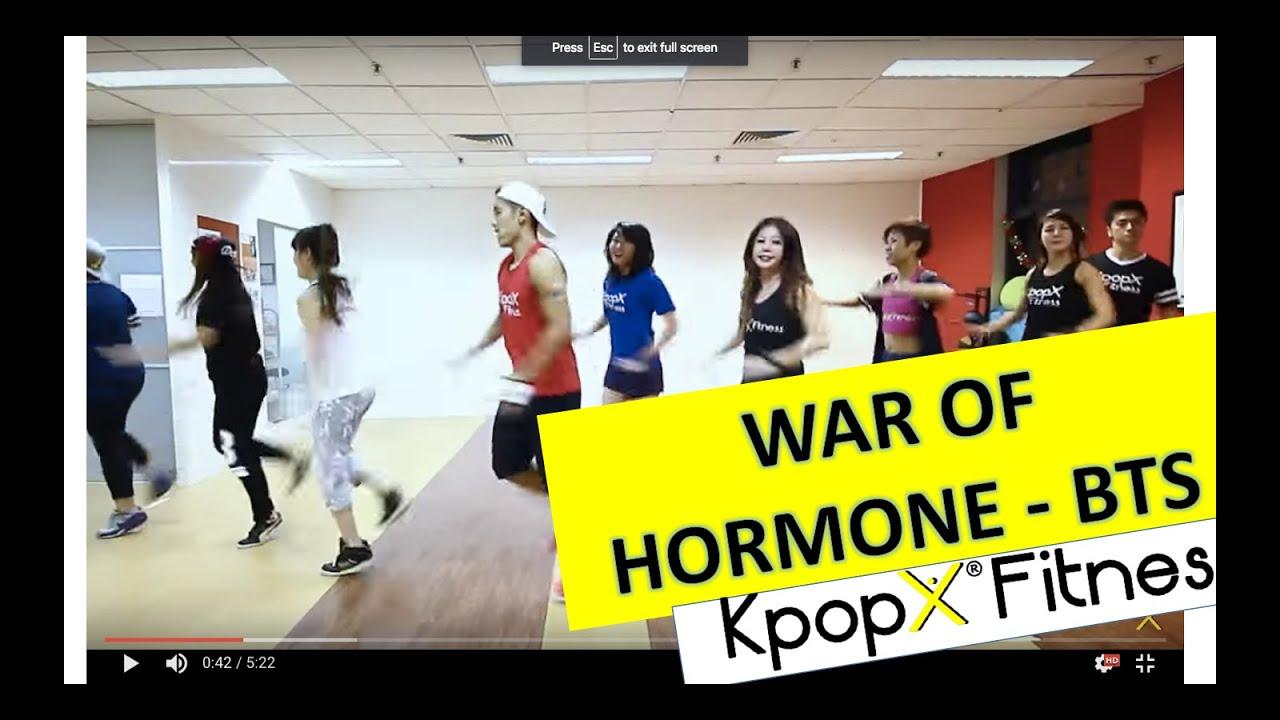 War of Hormone by BTS  Kpop Dance   Dance Fitness   KpopX
