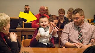 This Toddler Surprised Everyone When He Spoke Out At His Adoption Hearing
