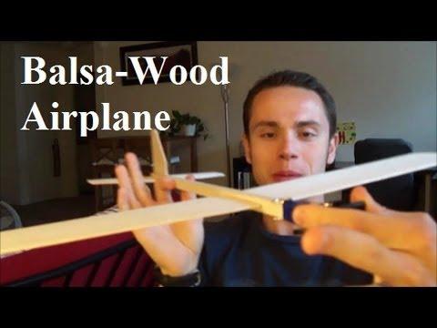 How To Make The Super Balsa Wood Plane Youtube