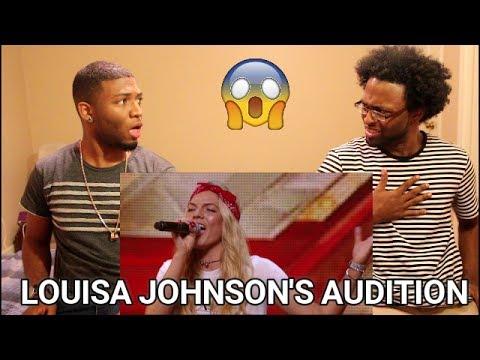 Louisa Johnson Covers Who's Loving You   Auditions Week 1   The X Factor UK 2015  (REACTION)