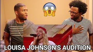 Louisa Johnson covers Who's Loving You | Auditions Week 1 | The X Factor UK 2015  (REACTION)
