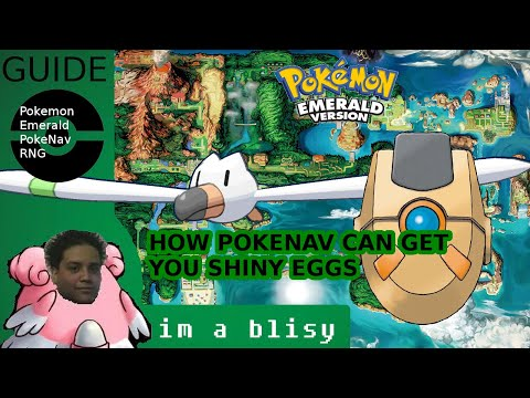 SHINY EGGS IN POKEMON EMERALD EASY (HOW TO RNG ABUSE EGG PID IN EMERALD)