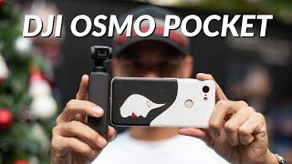 Dùng thử DJI Osmo Pocket (+10 phút video quay demo)