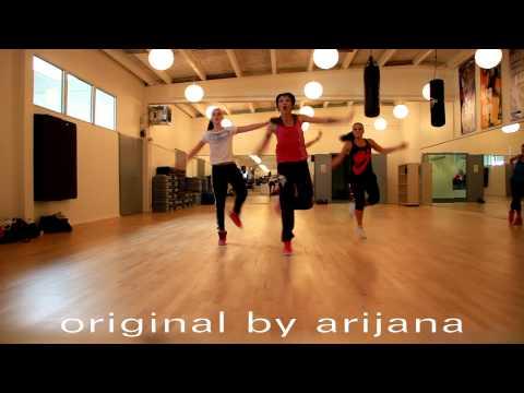 """La Luz"" by Juanes. quebradita zumba choreography"