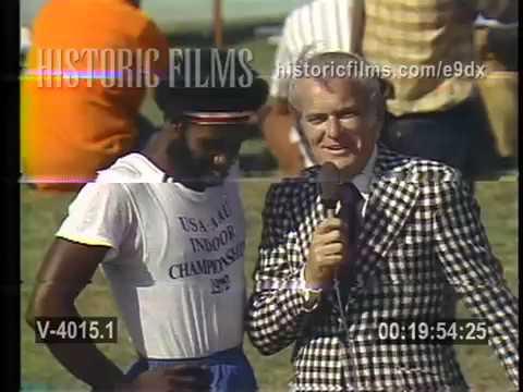 1969 AAU Track Meet 120-yard High Hurdles featuring Rod Milburn & Willie Davenport