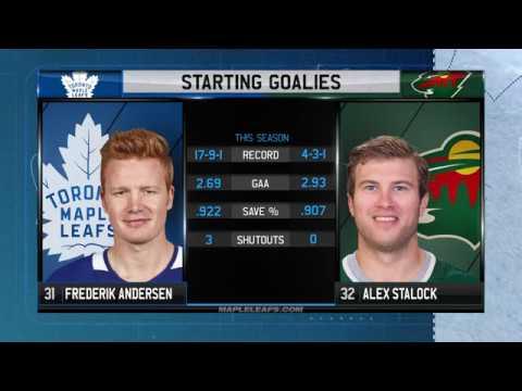 Molson Canadian Leafs Gameday: Toronto at Minnesota - December 14, 2017