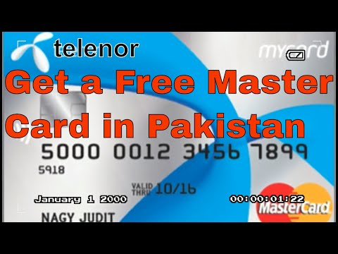 Telenor Microfinance Bank Virtual Debit Card  in Pakistan  | Telenor Easypaisa Tameer bank