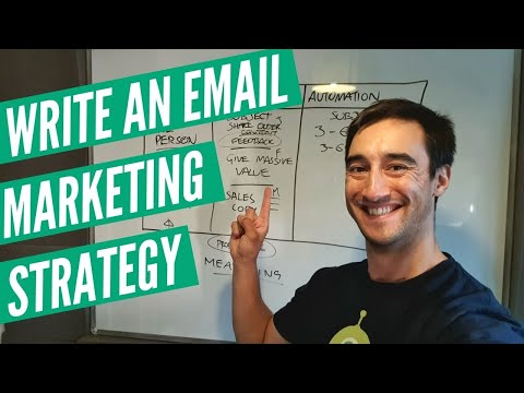 How to write an email marketing strategy – fast and easy