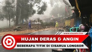 Longsor di Puncak, Bogor, Arus Lalu Lintas Lumpuh