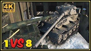 Pz.Kpfw. VII - 10 Kills - 1 VS 8 - World of Tanks Gameplay - 4K Video