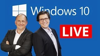 REPLAY spécial conférence Microsoft Windows 10 (Grand Talk)