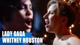 Lady Gaga, Whitney Houston - I'll Never Love Again / I Will Always Love You ft. Mariah Carey Video
