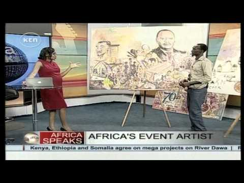 Rolands Tibirusya, Event Artist tells all about this art of painting at events