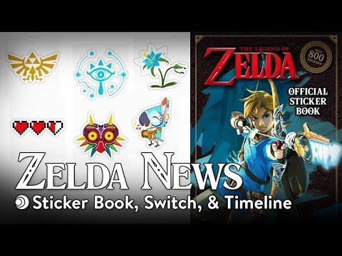 Sticker Book, Switch Video Capture, & BOTW Timeline | Zelda News 10-22