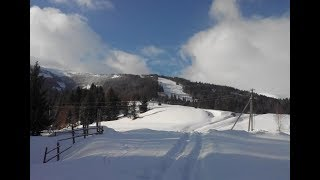 Пилипец, зимний отдых в Карпатах, катание на лыжах, февраль 2017 года