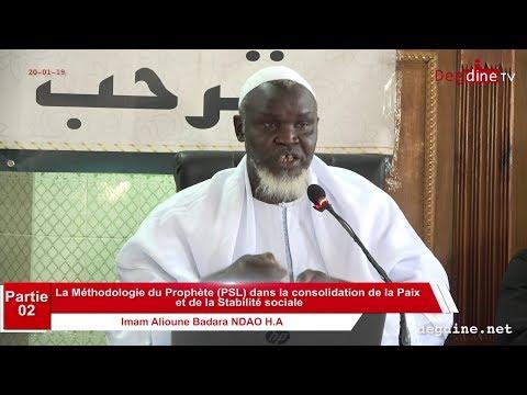 La Méthodologie du Prophète (PSL) dans la consolidation de la Paix et de la Stabilité sociale _V-02