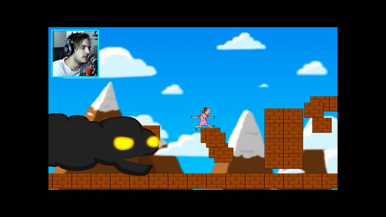 Pewdiepie - 玩粉絲自製遊戲 PewDuckPie 和 PewDie Flap (中文字幕) - YouTube