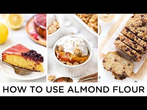 EASY ALMOND FLOUR RECIPES ‣‣ gluten-free & healthy