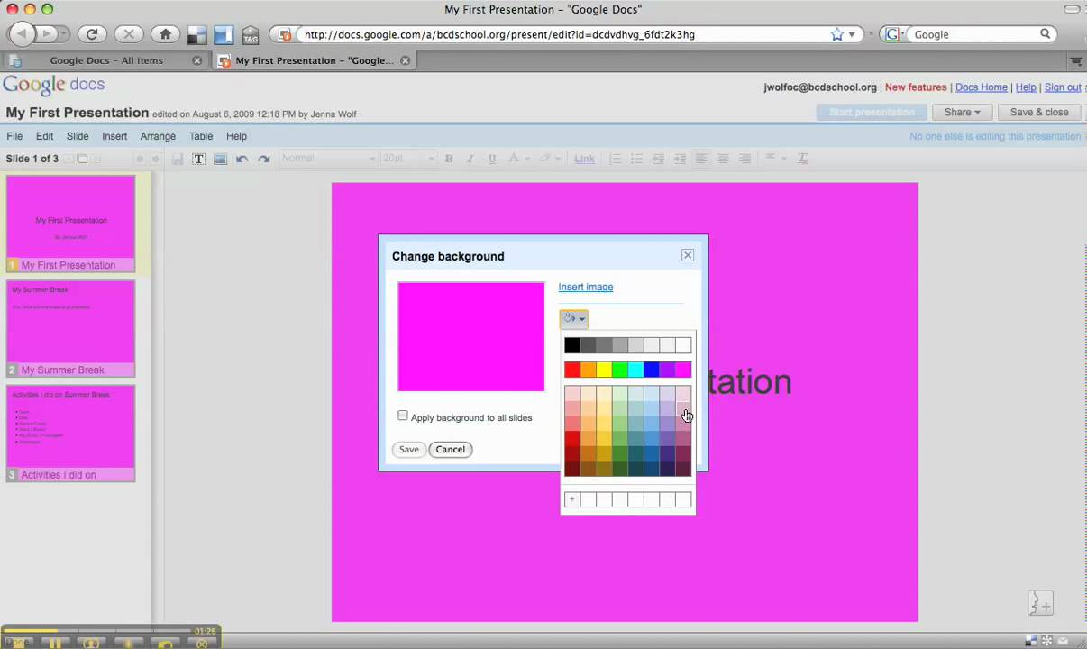 How to color in google docs - How To Color In Google Docs 5