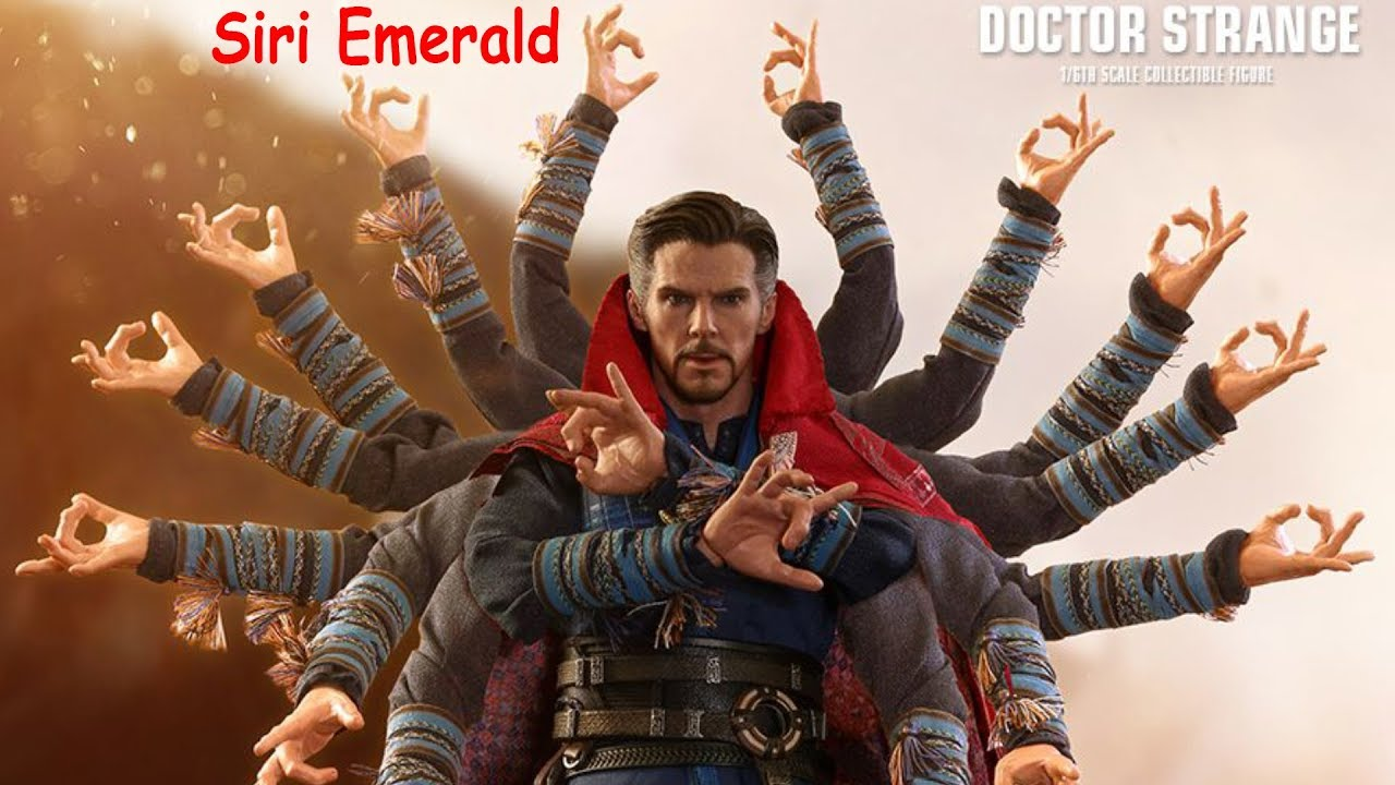 Infinity War DOCTOR STRANGE 1//6th Scale SLING RINGS Hot Toys MMS484 Avengers
