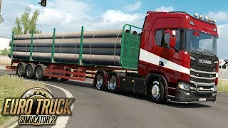 Droga do Rzymu - Euro Truck Simulator 2 | (#12)