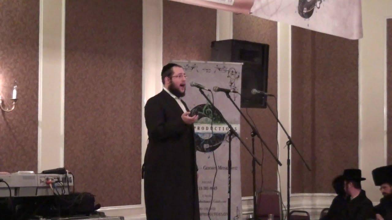 Shragy Gestetner Sings Ani Mamin AT Melaveh Malkah with the Stars