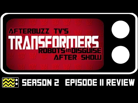 Transformers: Robots In Disguise Season 2 Episode 11  w Mitchell Whitfield  AfterBuzz TV