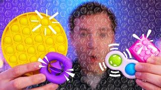 Simpl Dimpl, Pop it Fidget Toy Review and More!!! - Best Bubble Wrap Desk Toy Alternative