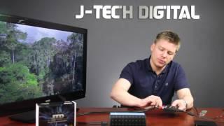 J-Tech Digital Premium Quality Hdmi To Hdmi + Audio (Spdif + RCA Stereo) Audio Extractor Converter