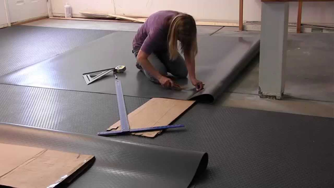 How To Install G Floor Garage Floor Mats From Better Life Technology:  GarageFlooringLLC.com   YouTube