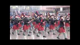 Army Cadet Force & Air Training Corps Pipes And Drums Inverness 2013