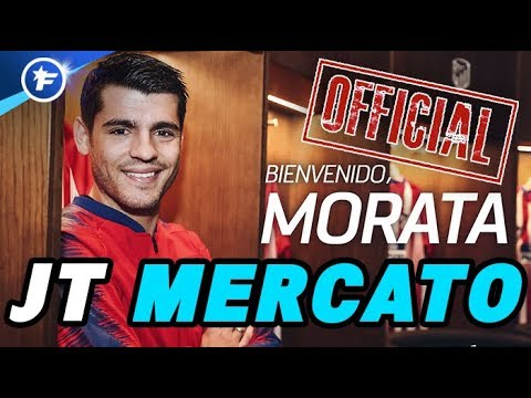 OFFICIEL : Alvaro Morata prêté à l'Atlético de Madrid | Journal du Mercato