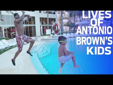A Day in the Life of Antonio Brown's Kids | NFL Rush