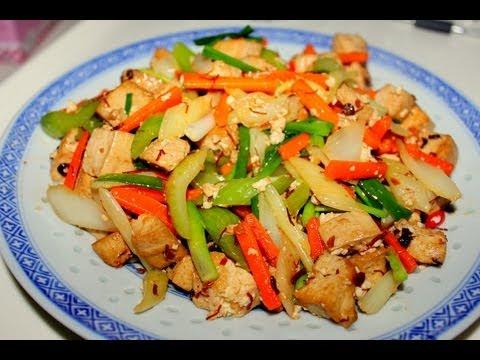 Receta: Tofu Salteado con vegetales