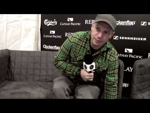 Stuart Braithwaite of Mogwai Interview (Part One) at Clockenflap Hong Kong