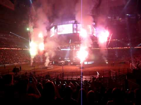 KISS in concert at the Houston Livestock Show and Rodeo March 15th, 2011 Finale