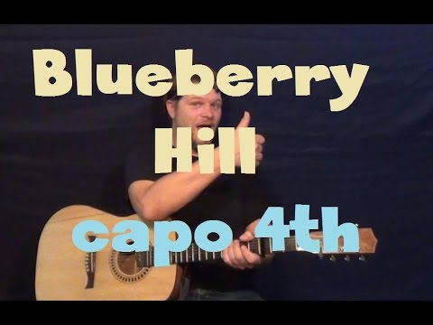 Blueberry Hill Fats Domino Easy Strum Guitar Lesson How To Play