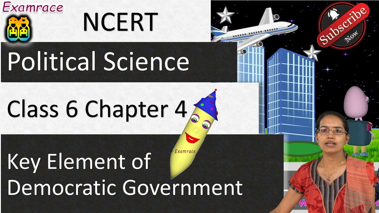 key elements of a democratic government class 6 notes