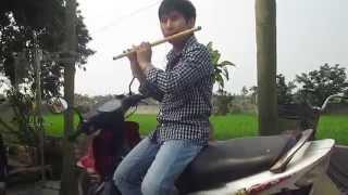 Sương trắng miền quê ngoại - sáo trúc live ( Cao Trí Minh) cover Quang Lê