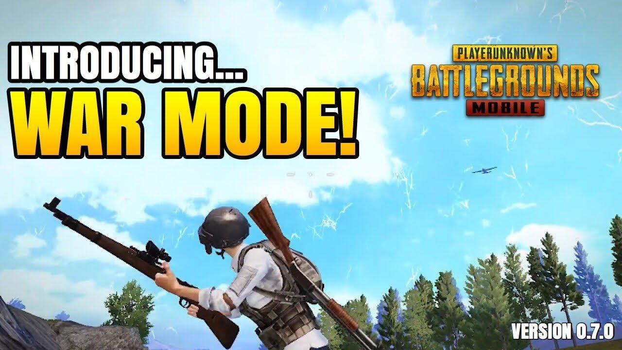 Introducing WAR MODE! - Version 0.7.0