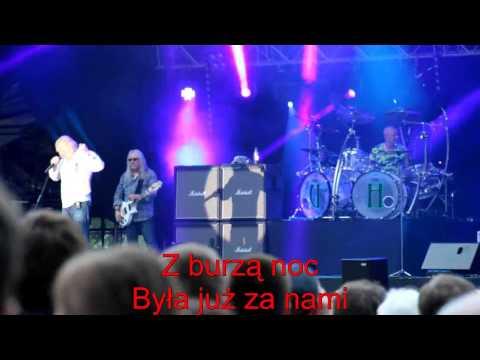 Thanks Jimi Festival 2014 (06) Uriah Heep (2a) July Morning - po polsku - moje SWOBODNE tłumaczenie
