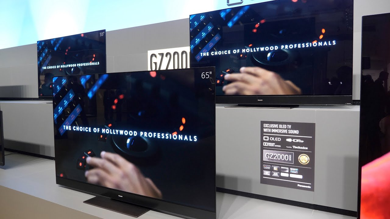 Panasonic GZ2000 Pro Panel OLED and GZ1500, GZ1000 and GZ950 models launched