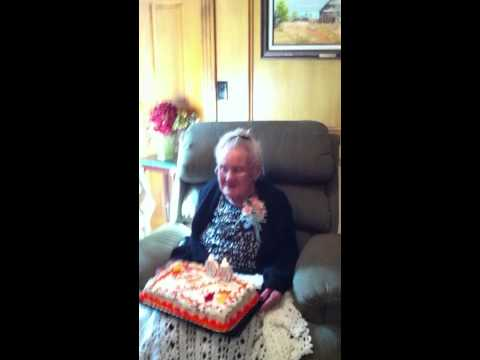granny's birthday song oct 23 2010