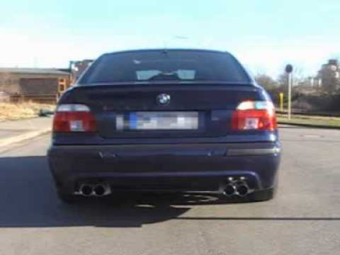 www sport bmw e39 528i eisenmann auspuff exhaust. Black Bedroom Furniture Sets. Home Design Ideas